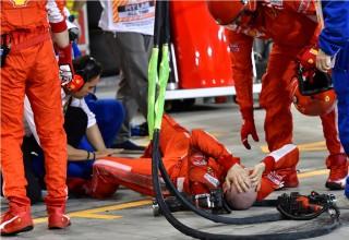 Operasi Mekanik Ferrari yang Ditabrak Raikkonen Berjalan Lancar