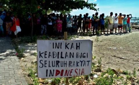 Walhi Minta Warga Pulau Pari tak Dikriminalisasi