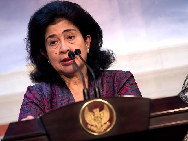 Menteri Kesehatan Nila Moeloek. ANT/ WIdodo S Jusuf