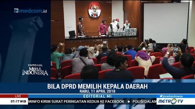 Bila DPRD Memilih Kepala Daerah