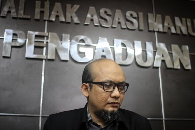 Penyidik senior KPK Novel Baswedan. Foto: Antara/Dhemas Reviyanto