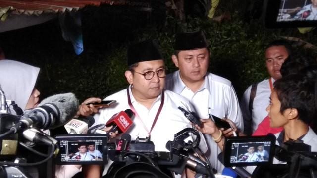 Wakil Ketua Umum Partai Gerindra Fadli Zon. Medcom.id/ Fachri Audhia Hafiez