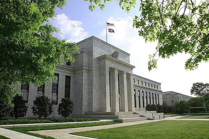 Gedung The Fed (AFP PHOTO/KAREN BLEIER)