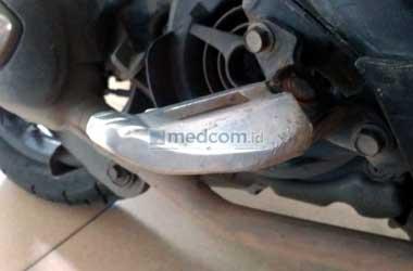 Jangan sepelekan peren vital pijakan kaki pada sepeda motor