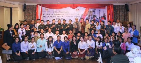 KBRI Vientiane Buka Kursus Bahasa Indonesia