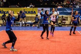 Tim Putri Bandung BJB Pakuan Berharap Keberuntungan di Final Proliga