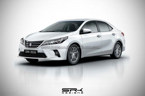 Suzuki Corolla mendapatkan sejumlah perubahan di sektor