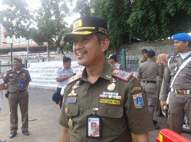 Kepala Satuan Polisi Pamong Praja (Kasatpol PP) DKI Jakarta Yani Wahyu. (Foto: Medcom.id/Nur Azizah).
