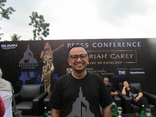 Anas Syahrul Alimi, CEO Rajawali Indonesia Communication (Foto:
