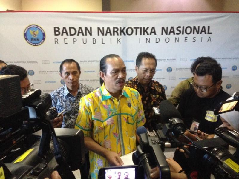 Deputi Bidang Pemberantasan BNN Irjen Arman Depari di kantor BNN, Cawang, Jakarta Timur, Jumat, 13 April 2018.Medcom.id/Deny Irwanto