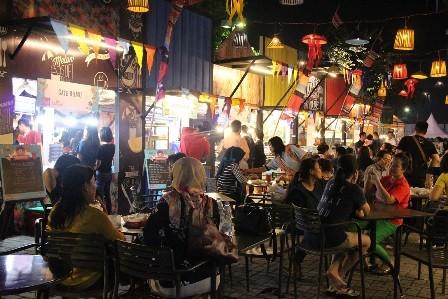 Ragam Kuliner Kekinian Di Pasar Senggol Summarecon Mal Bekasi