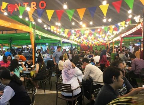 Suasana Night Market ala Bangkok Hadir di XploRasa 2018