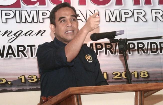 Wakil Ketua MPR Ahmad Muzani - Medcom.id/Ilham Wibowo.