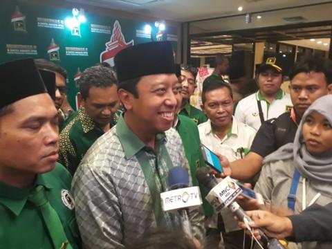 Ketua Umum PPP Romahurmuziy. Foto: Metrotvnews.com/M Sholahadhin