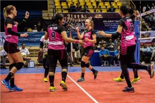Tim Bola Voli Putri JPE Juara Proliga 2018