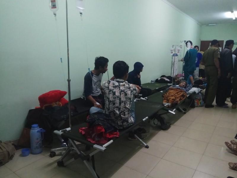 Korban miras oplosan yang dirawat di RSUD CIcalengka, Jabar. (Medcom.id/Octa)