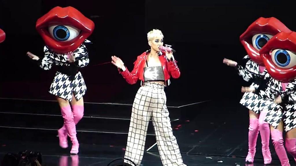 Konser solo Katy Perry di ICE BSD Tangerang semalam, Sabtu, 14 April 2018 tidak mendapat sambutan cukup antusias dari khalayak Indonesia. (Foto: Youtube)