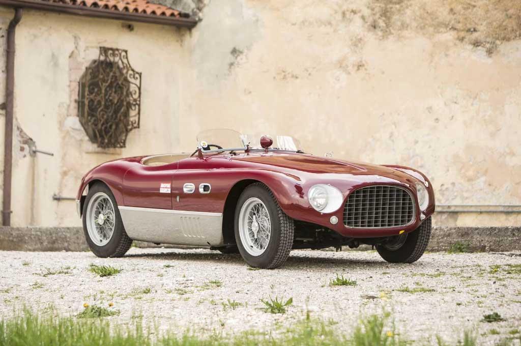 ?Ferrari 625 Targa Florio 1953 usung mesin segaris empat silinder. Carscoops