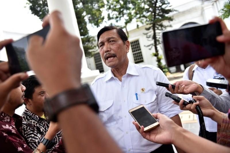 Menteri Koordinator Bidang Kemaritiman Luhut Binsar Pandjaitan. (FOTO: ANTARA/Puspa)