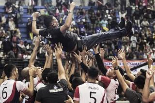 Putra Surabaya Bhayangkara Samator Juara Proliga 2018