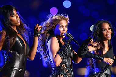 Kelly Rowland, Beyonce Knowles dan Michelle Williams dari