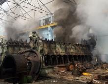 PLTD Senayan Kebakaran saat Penggantian untuk Cadangan MRT