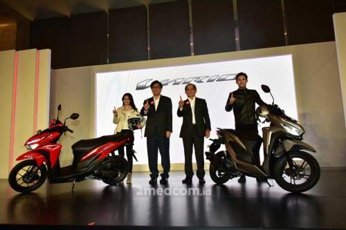 Honda resmi luncurkan All New Vario 125 dan dan 150. medcom.id/A