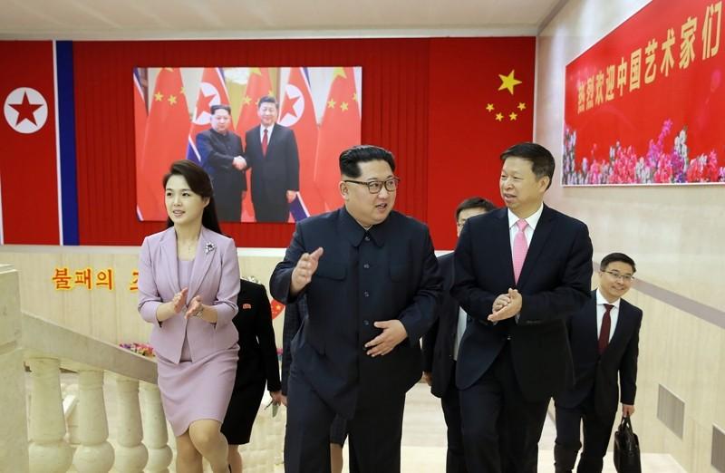 Pemimpin Korea Utara (Korut) Kim Jong-Un akan melakukan pertemuan dengan Presiden Korea Selatan (Korsel)  Moon Jae-in (Foto: AFP).