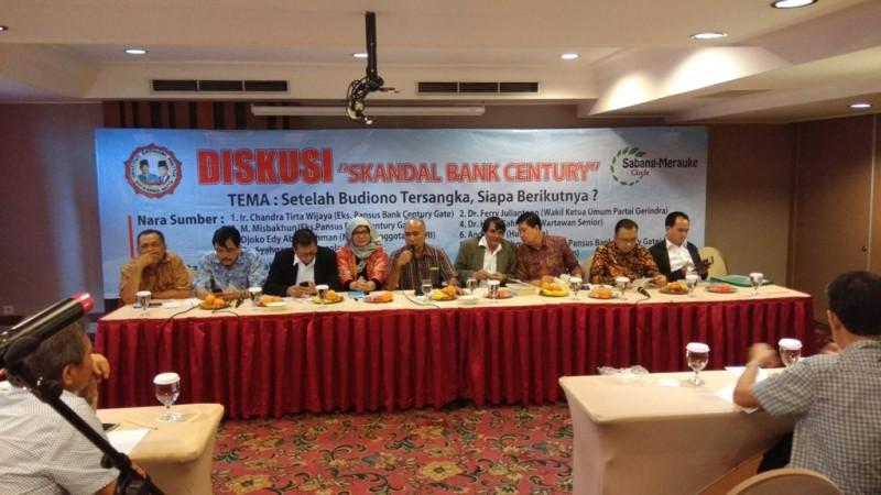 Diskusi kasus Century - Medcom.id/Fachri Audhia Hafiez.
