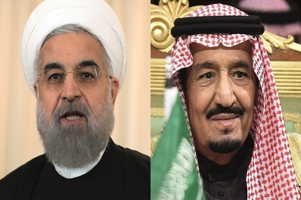 Presiden Iran Hassan Rouhani (kiri) dan Raja Arab Saudi Salman bin Abdul Aziz al-Saud. (Foto: AFP/MEE)