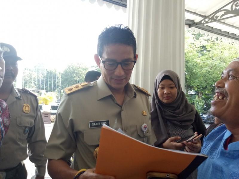 Wakil Gubernur DKI Jakarta Sandiaga Uno. Foto: Medcom.id/Siti Yona Hukmana.