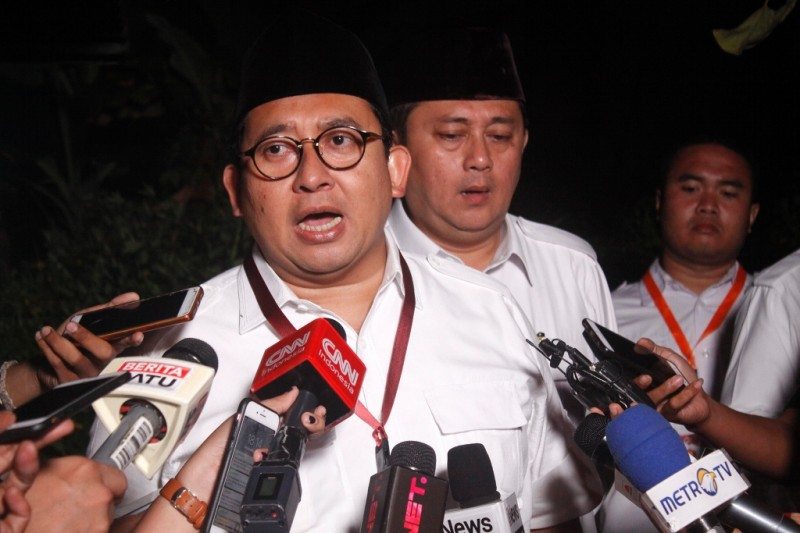 Wakil Ketua Umum Partai Gerindra Fadli Zon. MI/Barry Fathahilah.