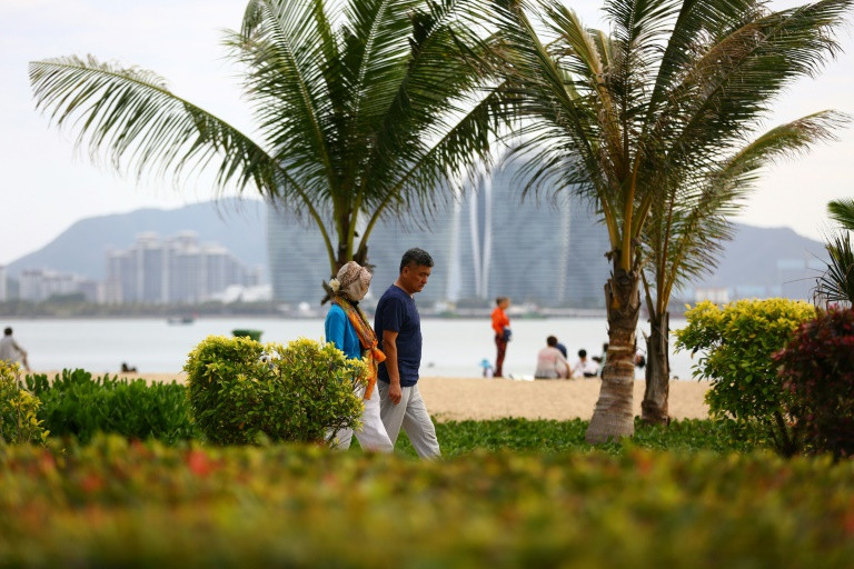 Hainan has not proven an international draw so far, attracting fewer than a million foreign visitors in 2016. (Photo:AFP/File)