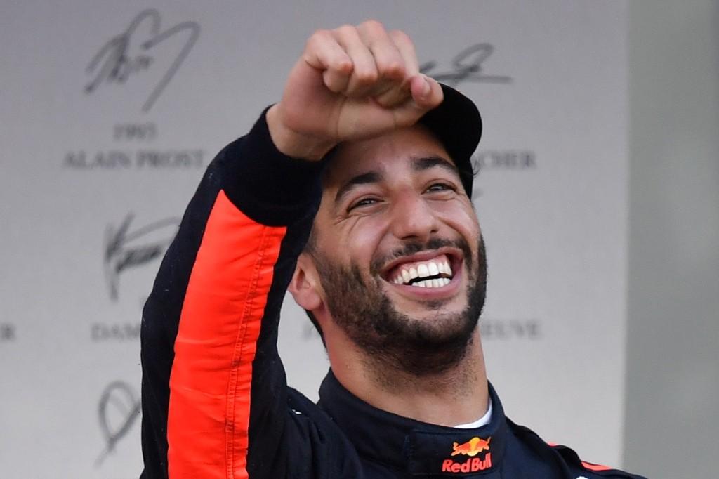 Pembalap Red Bull Daniel Ricciardo (Foto: AFP)