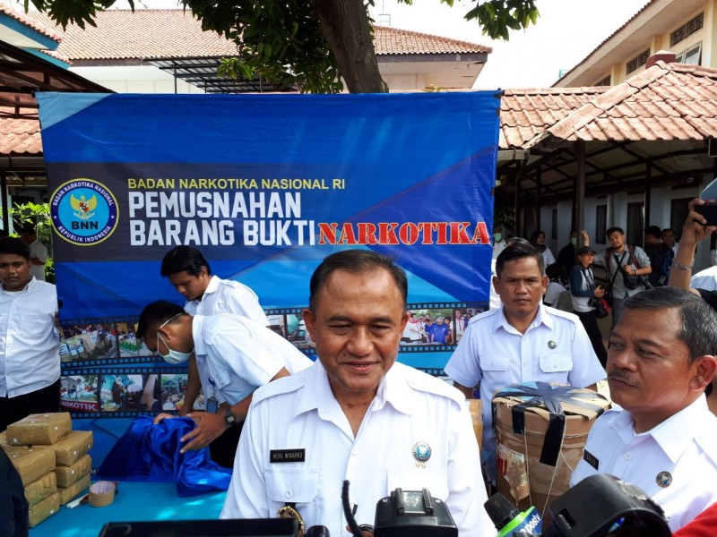 Kepala Badan Narkotika Nasional (BNN) Heru Winarko Komjen Heru Winarko--Medcom.id/Faisal Abdalla
