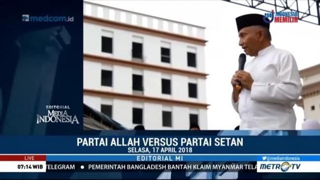 Partai Allah versus Partai Setan