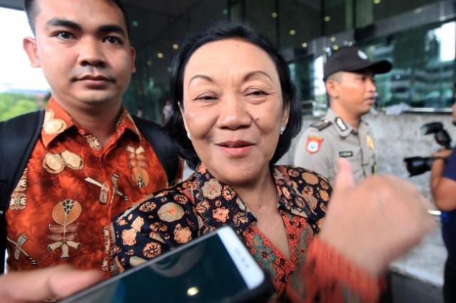 Mantan Dirjen Dukcapil Kemendagri Diah Anggraini. Foto: MI/Panca.