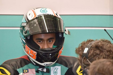 Hafizh Syahrin (AFP PHOTO / Peter PARKS)