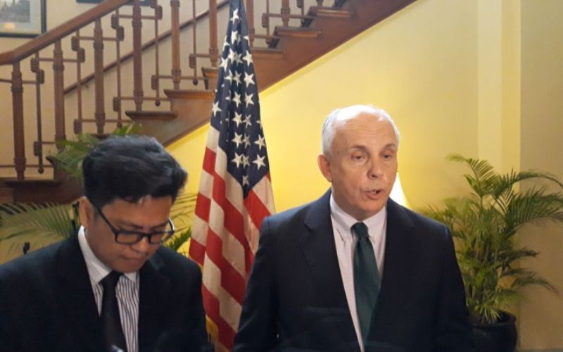 Duta Besar Amerika Serikat (AS) untuk Indonesia Joseph Donovan (Foto: Marcheilla Ariesta).