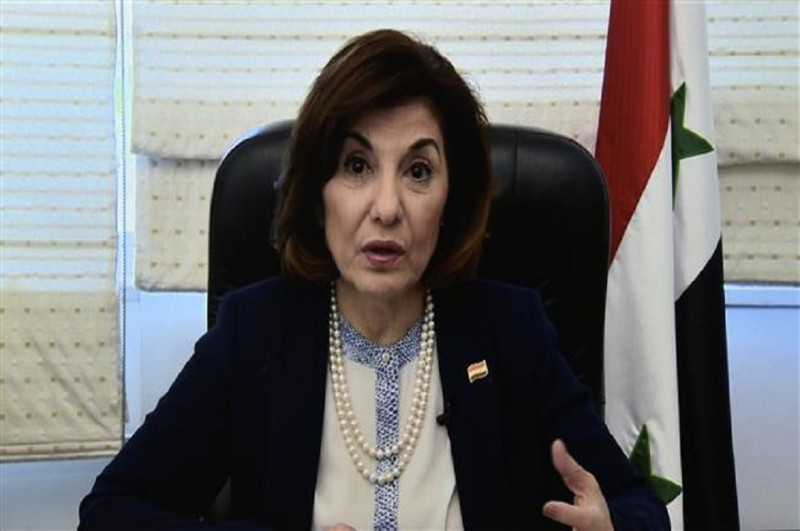 Bouthaina Shaaban, Penasihat Urusan Media dan Politik Presiden Suriah. (Foto: AFP)