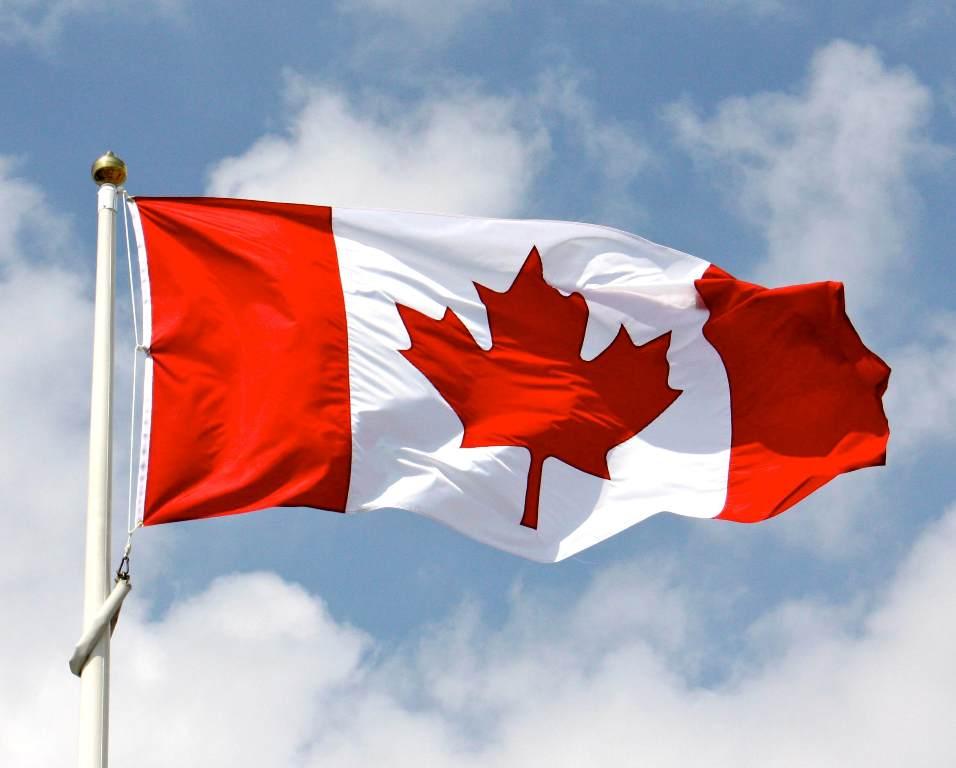 Lambang bendera Kanada. (Foto: theflagstore)