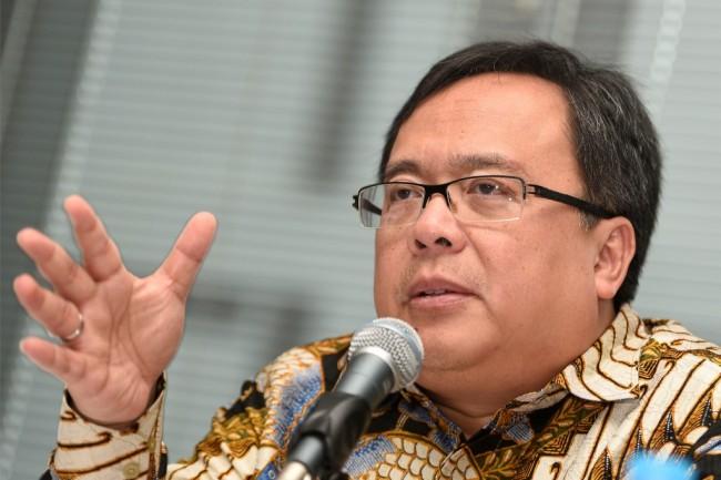 Kepala Badan Perencanaan Pembangunan Nasional (Bappenas) Bambang Brodjonegoro. ANT/Sigid Kurniawan.