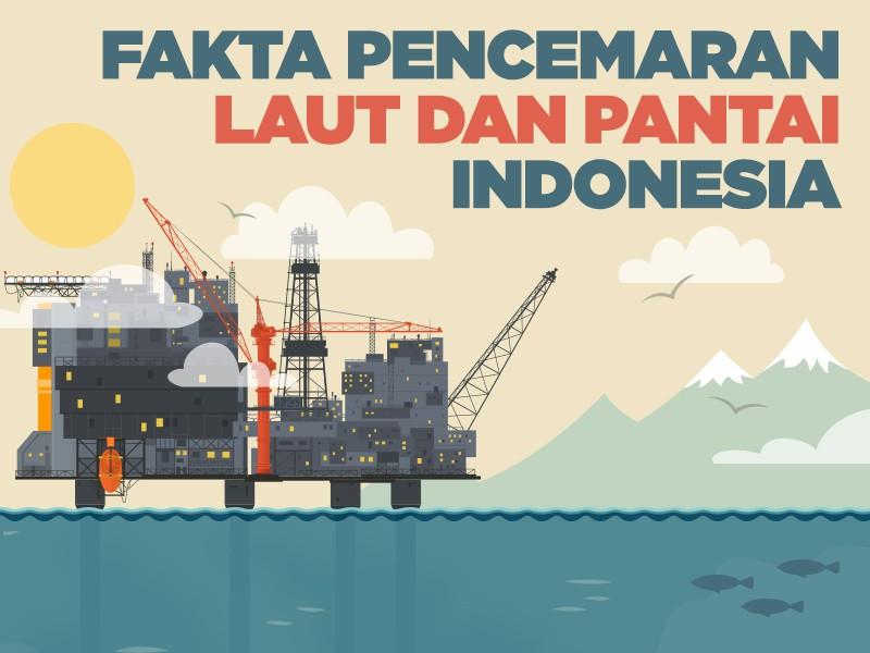 Infografis: Fakta Pencemaran Laut dan Pantai Indonesia