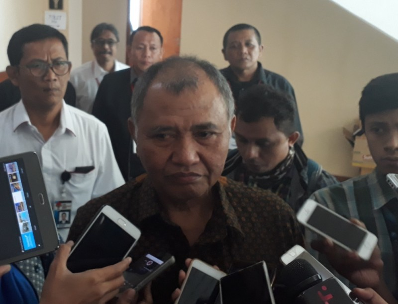 Ketua KPK Agus Rahardjo - Medcom.id/M Sholahadhin Azhar.