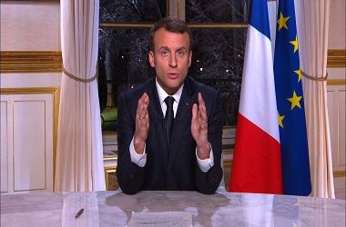 Presiden Prancis Emmanuel Macron. (Foto: AFP)