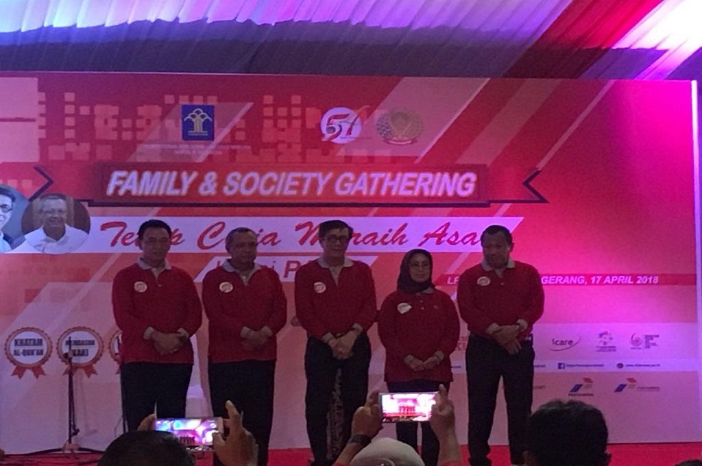 Menkumham Yasonna Laoly mengunjungi LPKA Kelas 1A Tangerang, Selasa 17 April 2018, Medcom.id - Hendrik