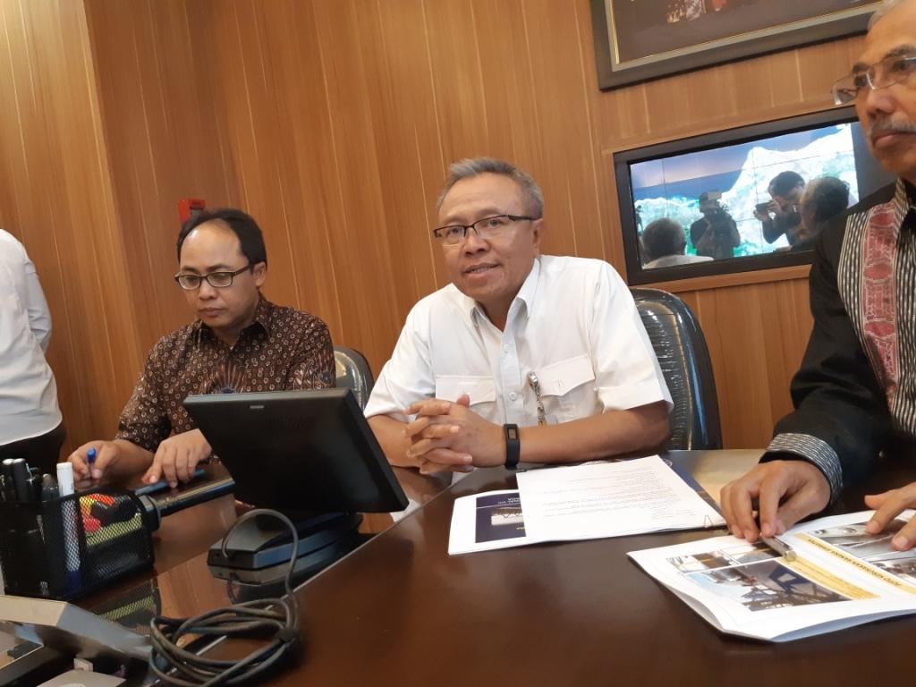 Direktur Jenderal Bina Marga Kementerian Pekerjaan Umum dan Perumahan Rakyat (PUPR) Arie Setiadi Moerwanto - Medcom.id/Dhaifurrakhman Abas.