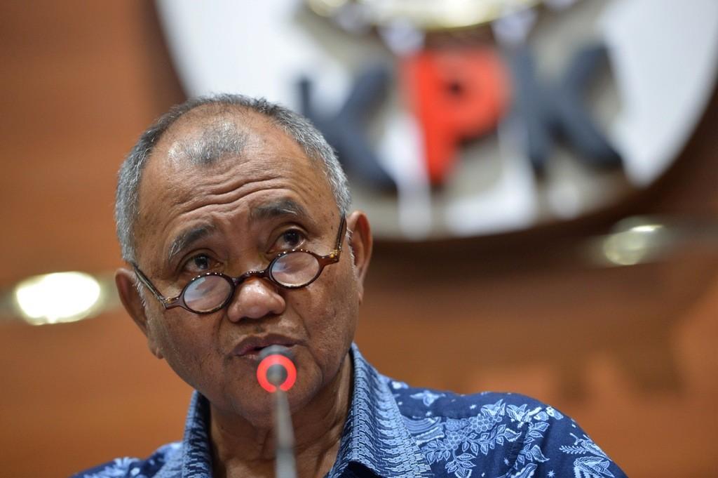 Ketua KPK Agus Rahardjo - ANT/Wahyu Putro A.
