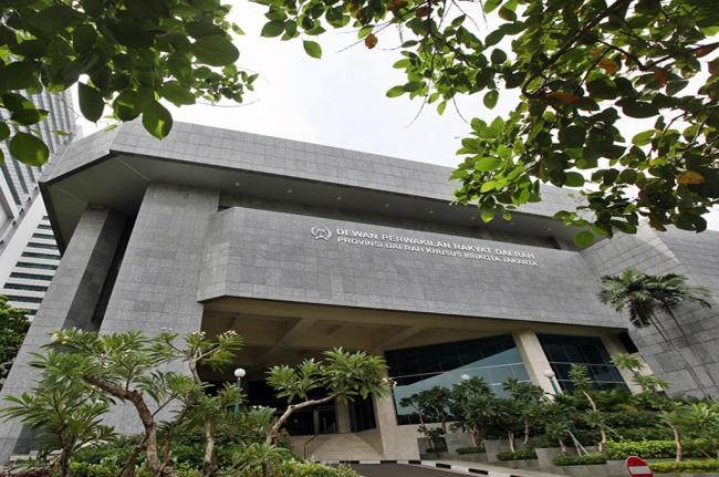 Gedung DPRD DKI Jakarta. Foto: MI/Panca Syurkani.