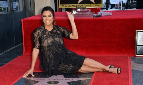 va Longoria mendapat bintang Hollywood Walk of Fame (Foto: